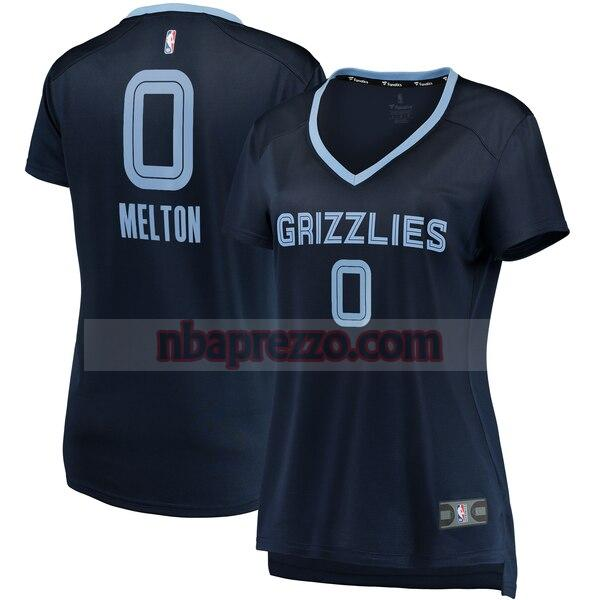 Maglia De'Anthony Melton No 0 Memphis Grizzlies icon edition Donna Marina