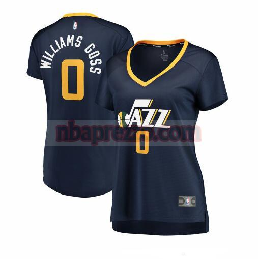 Maglia Nigel Williams-Goss No 0 Utah Jazz icon edition Donna Marina