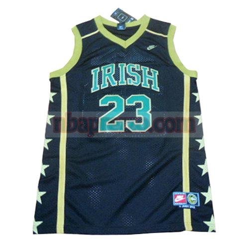 maglia LeBron James st. vincent-st. mary uomo blu