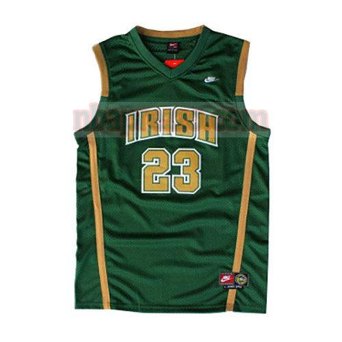 maglia LeBron James st. vincent-st. mary uomo verde